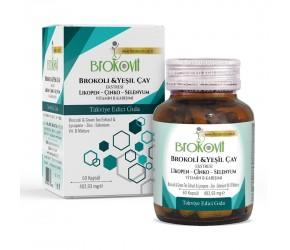 BROKOLİ & YEŞİL ÇAY EKSTRESİ- Vitamin B Karışımı